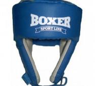 Шлем боксерский Boxer кожа Элит