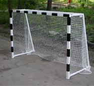 Ворота гандбольные 3000х2000 (не разборные) с полосами