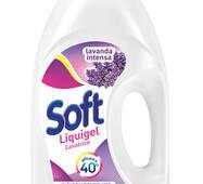 "Гель для прання Лаванда Soft Detersivo liquido lavatrice ""Lavanda Intesa"" 45 lavaggi, 45пр/2,5л/4ящ"