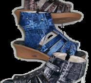 Босоніжки на дівчинку під джинс 1213-4 (у ростовке 5 шт.)