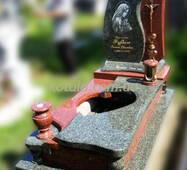 Одинарний гранітний пам'ятник №46 купити в Луцьку