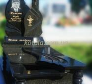 Одинарний гранітний пам'ятник №76 купити в Луцьку