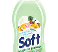 "Кондиціонер-ополіскувач/концентрат SOFT ""Muschio Bianco""750 мл /30пр/"