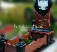 Одинарний гранітний пам'ятник №52 купити в Луцьку