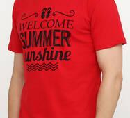 Чоловіча футболка з принтом В'єтнамки Manatki Червоний M (11736250)