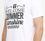 Чоловіча футболка з принтом В'єтнамки Manatki Білий XL (11736250)