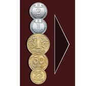 Наклейка Дрібниця 1, 2 грн, вертикальна