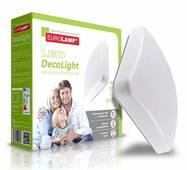 EUROLAMP LED Світильник квадратний накладний Decolight 14W 4000K