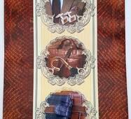 """Пакет для подарунка гігант вертикальний """"Чоловічі аксесуари"""" 30х47 см   (6 шт/уп)"""