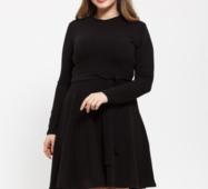 Жіноча сукня 17140 чорний