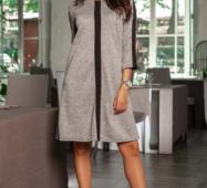 Жіноча сукня 19598 сірий