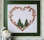 """БКС402 """"Різдвяне сердечко"""""""