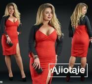 Платье - 17690 (красный)
