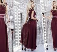 Вечернее женское платье норма/батал р.42-44,44-46,48-50  ST Style