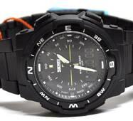 Спортивные часы Skmei 1454 черные  50 m водонепроницаемые (5АТМ)