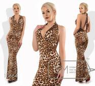 Платье-русалка в пол облегающее женское,норма р.42,44  Фабрика Моды