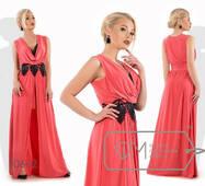 Платье-хитон из микромасла  женское,норма р.42-48  Фабрика Моды