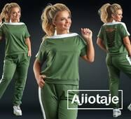 Жіночий спортивний костюм, батал р.50, 52, 54, 56 Ajiotaje XL