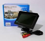 Дисплей LCD 4.3 дюйма для двух камер