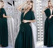 Вечірнє жіноче сукня-трансформер норма р.40-42, 44-46  ST Style