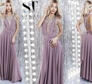 Вечернее женское платье-трансформер норма р.40-42,44-46  ST Style