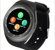 Смарт Часы Smart Watch Phone Y1 Черные. Шагометр. счетчик калорий