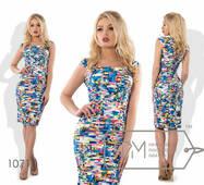 Сукня-футляр міні жіноче, норма р. S, М, L  Фабрика Моди