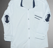 """Стильная рубашка для мальчика  """"Paulo Carvelli"""",р.116-146,Турция"""
