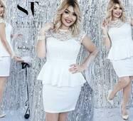Вечернее  платье женское батал р.46,48,50  ST Style