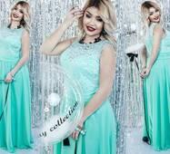 Вечернее  платье женское батал р.48-54  ST Style