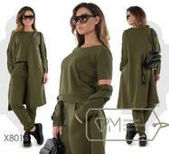 Модний жіночий костюм, батал р.48-50, 52-54  Фабрика Моди