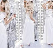 Вечірня жіноча сукня норма/батал р.42-44, 44-46,48-50  ST Style