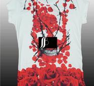 Красива стильна футболка  для дівчинки