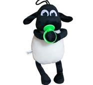 Мягкая игрушка Барашек Тимми зеленая соска