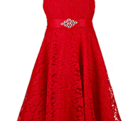 Вечернее ажурное платье для девочек