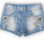 Шорты джинсовые на девочку