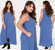 Летнее женское  платье в стиле бохо Эквадор ,батал р. 50,52,54  Peony