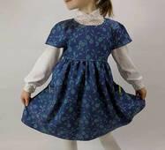 """Дитяча джинсова сукня на блискавці """"Modnjashka"""""""