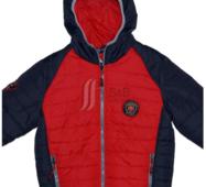 Куртка весенняя для мальчика на тонком силиконе