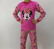 "Пижама детская ""Mini-Devochka""футер-начес для девочек"