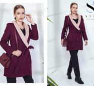 Пальто жіноче демисезон, норма р.42, 44,46,48  ST Style