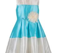 Детское выпускное платье для девочек с цветком