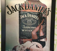 Картина трёхмерная Jack Daniels
