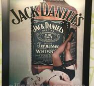 Картина тривимірна Jack Daniels