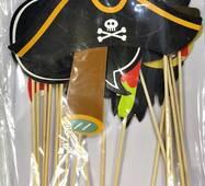Селфі набір для вечірки в піратському стилі