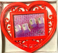 Рамка коллаж сердце LOVE,  (M1614)