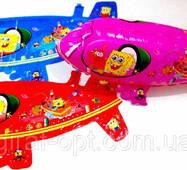 "1201-74 Фольгированный куля ""Підводний човен 3d Спанч Боб"" (AH - 314"
