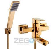 Змішувач ванна LEB3-G золото купити в роздріб