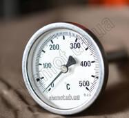 Биметаллический термометр до 500 град. для тандыра Большой
