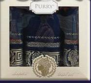 Набор турецких полотенец Purry Cotton Kleopatra 3-ка